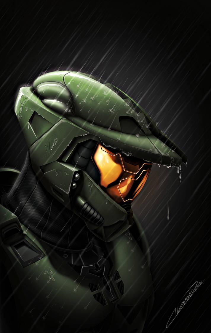 Halo - Death of a Spartan by GrandMaster-J5