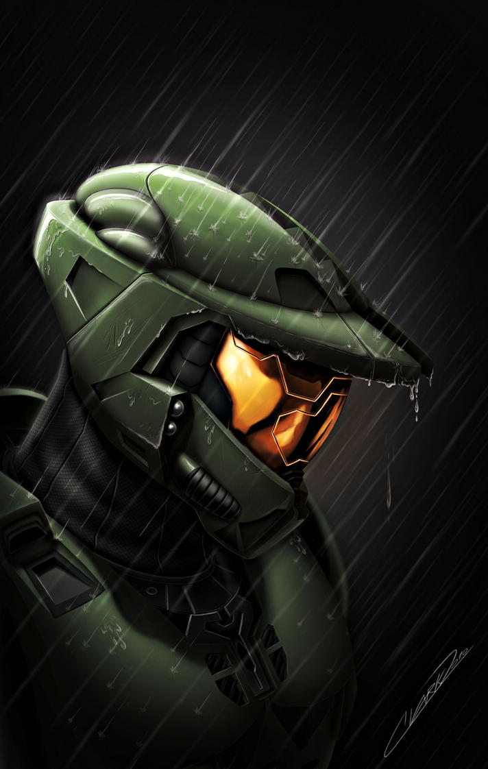 Halo - Death of a Spartan by GrandMaster-J5