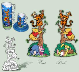Disneystore Stack mugs