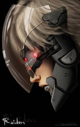 I am Lightning - Raiden MGS4 by GrandMaster-J5