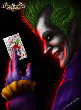 Pick A Card - Joker - Arkham Asylum