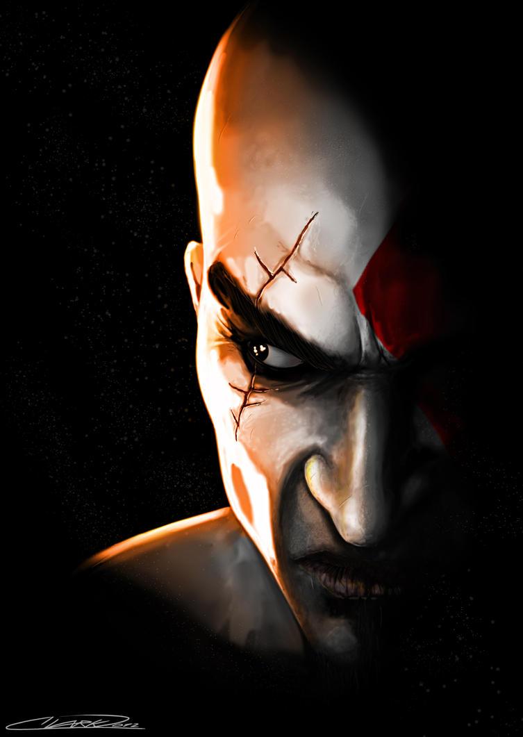 Kratos - God Of War by GrandMaster-J5
