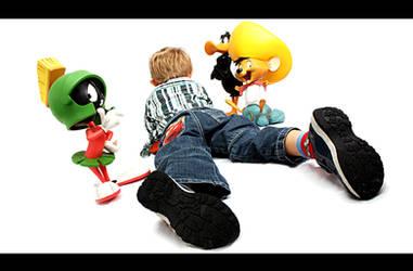 Lil Bro and friends by GrandMaster-J5