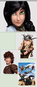 Dragons Snips