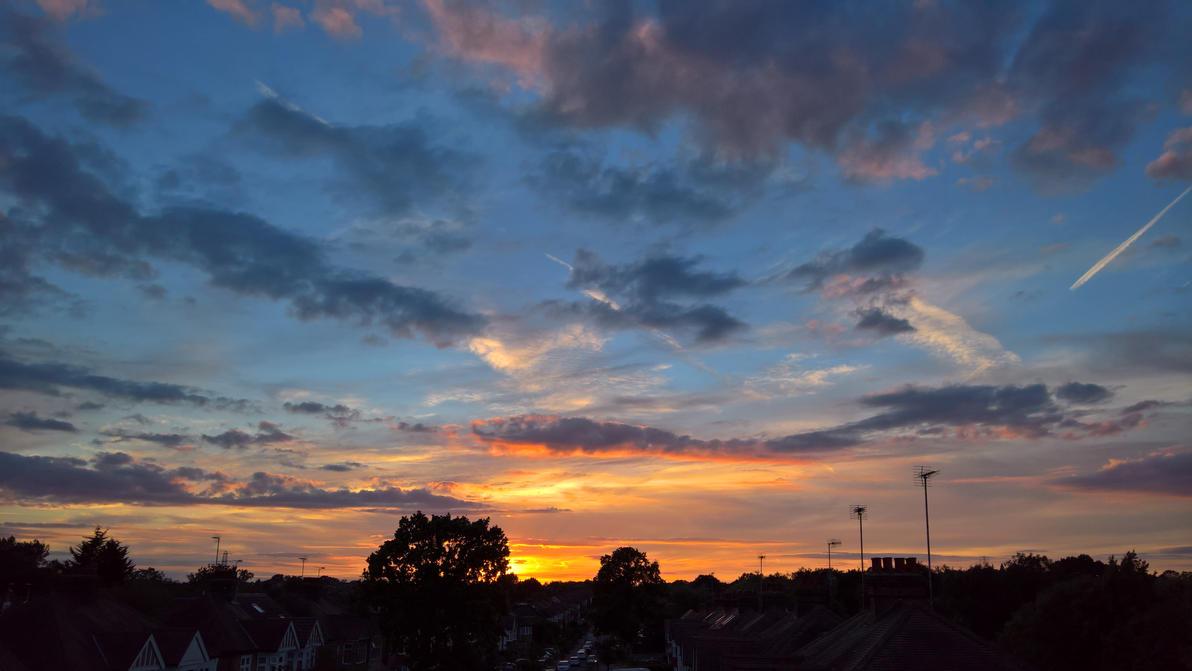 My London Sunset by GrandMaster-J5