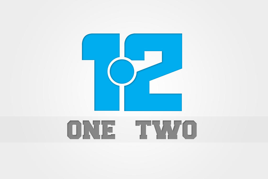 Two Logo One Two Logo 2 by Zee-Who