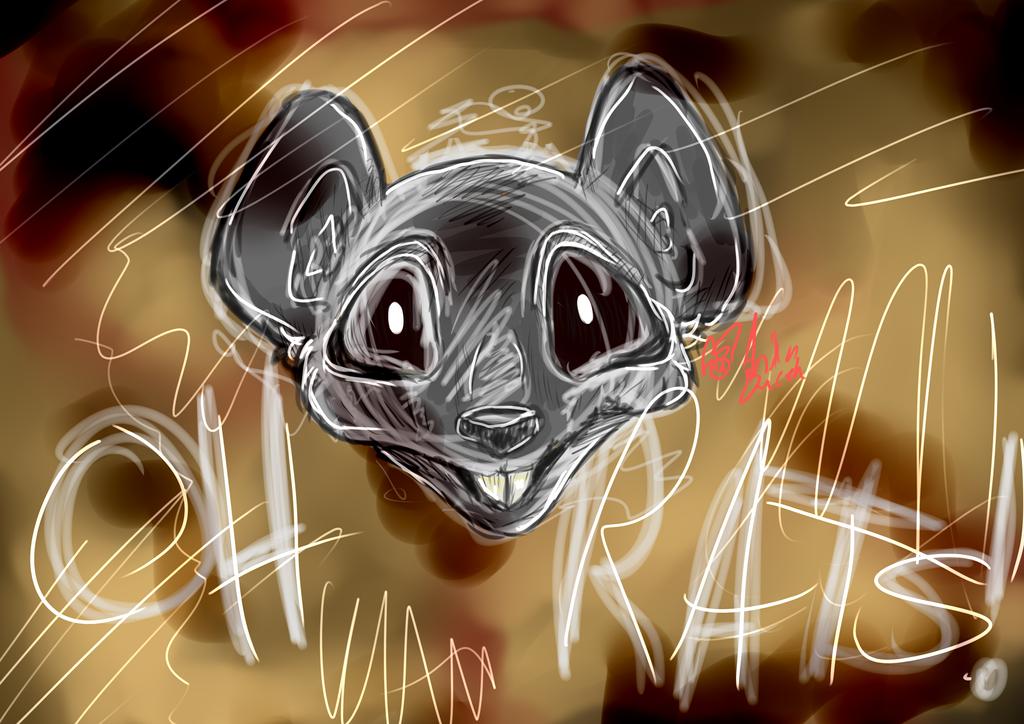 Oh Rats by illogicalgummybears
