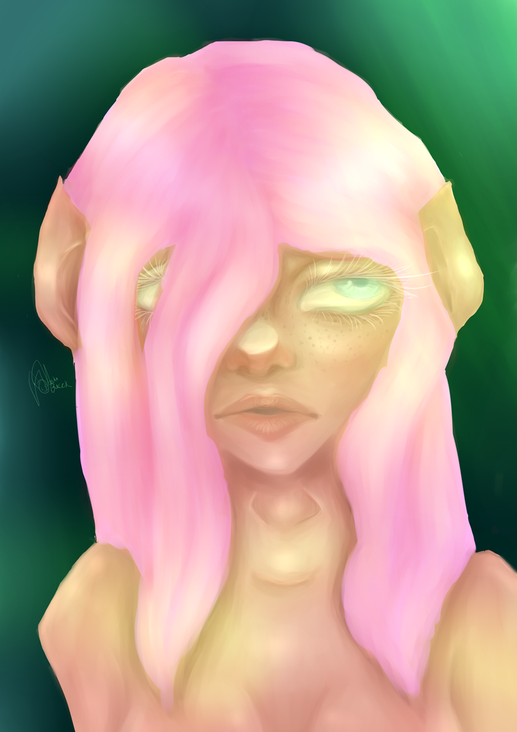 New painting technique test by illogicalgummybears