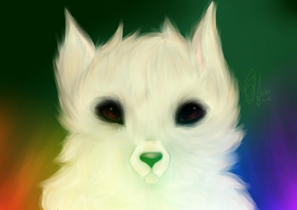 Gabe the Dog tribute painting by illogicalgummybears