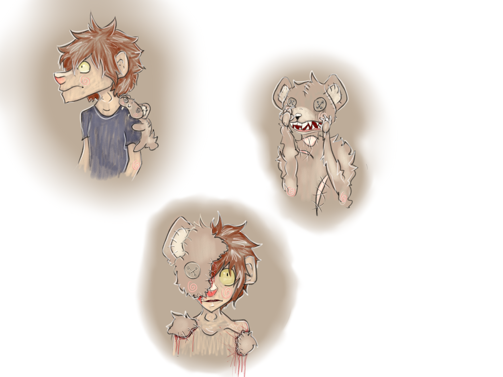 Allegory Sketches for School Pt 2 by illogicalgummybears