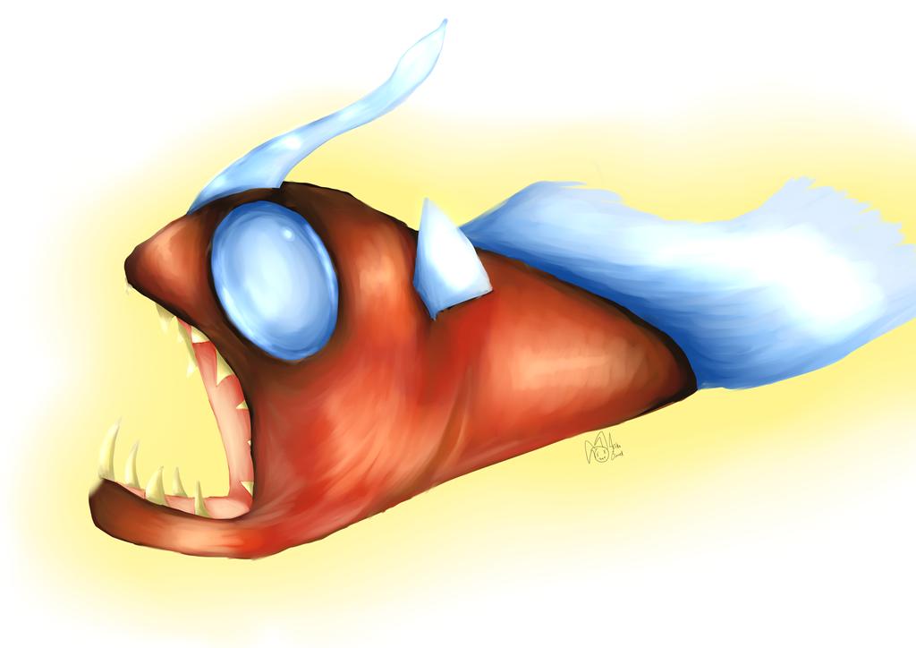 Angler Fish by illogicalgummybears