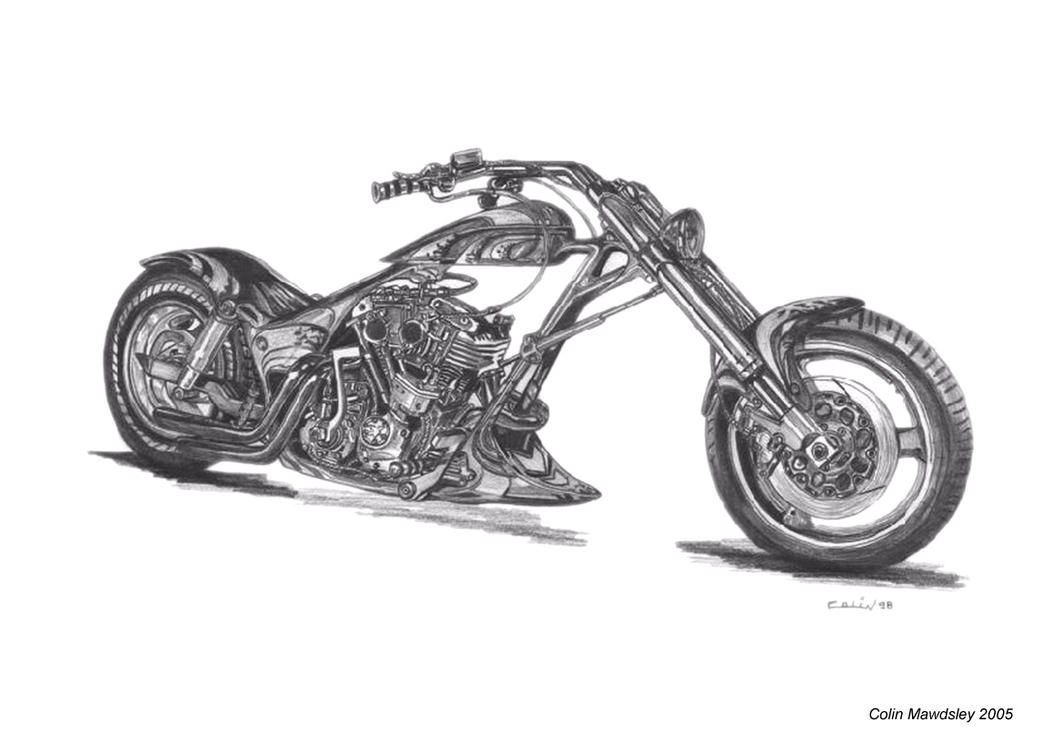 Pencil drawings pencil drawings harley davidson