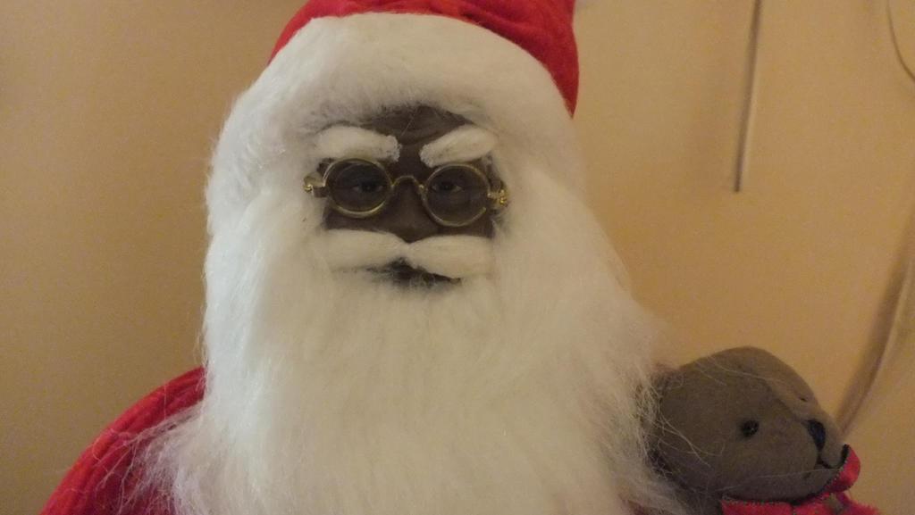 Black Santa!! by GimpTron