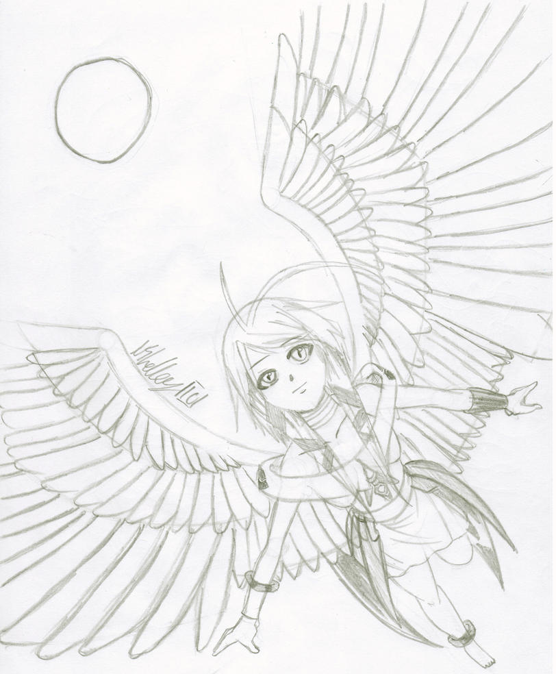 angel warrior by loverofmanga