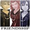 Roxas, Axel y Xion Icon 2