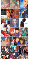Kingdom Hearts icons