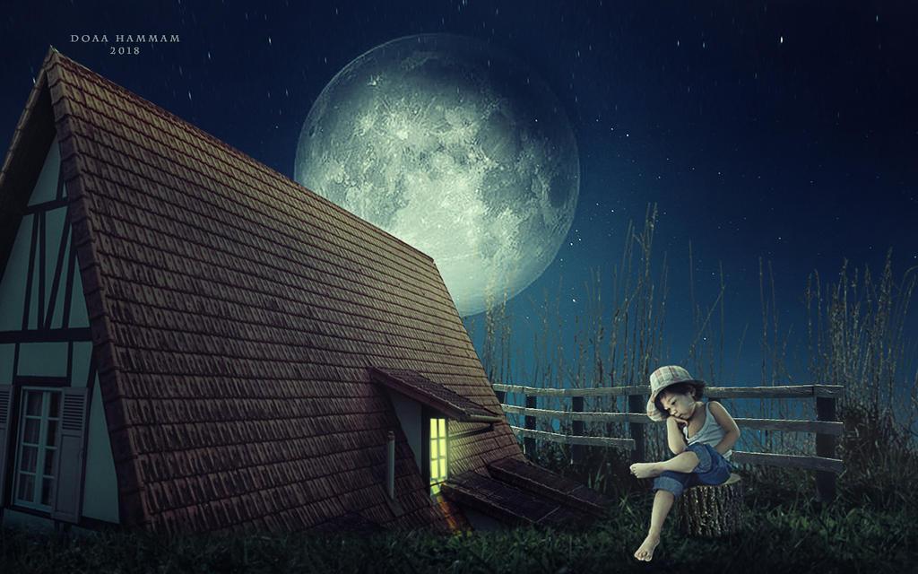 Moon day by DoaaHammam