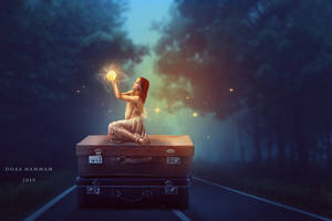 Magic light by DoaaHammam