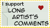 Long Artist's Comments Stamp by aque-mizuhara