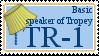 TR-1: Basic speaker of Tropey by aque-mizuhara
