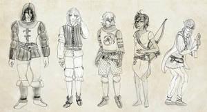 RPG - Fey - The squad by aque-mizuhara