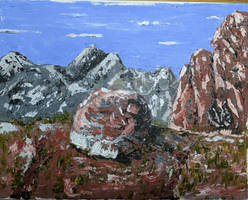 Snow Canyon Rock