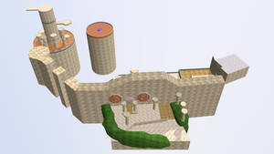 Giant Palace -Floor Overview-