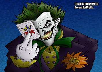 The Joker Coloration by Welfe