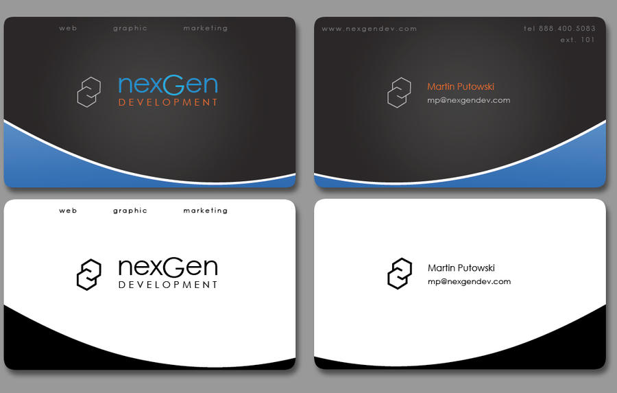 Business card design sample by mzp420 on deviantart - Picture design samples ...