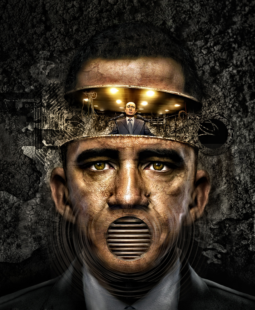 Obamabot by azrainman
