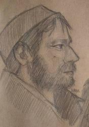 Ewan McGregor sketch by poisoned--bliss