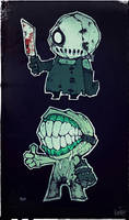 Tooth and Knife by WORMBOYx