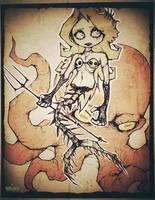 Deep Sea Siren by WORMBOYx