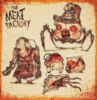 MEAT FACTORY - Bloodwork by WORMBOYx