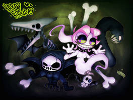 HAPPY DEATHDAY! by WORMBOYx