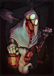 GHASTULE THE GRAVEKEEPER by WORMBOYx