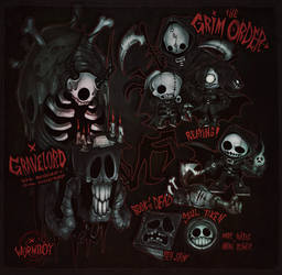 THE GRIM ORDER by WORMBOYx