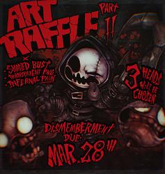 ART RAFFLE II PROMO by WORMBOYx