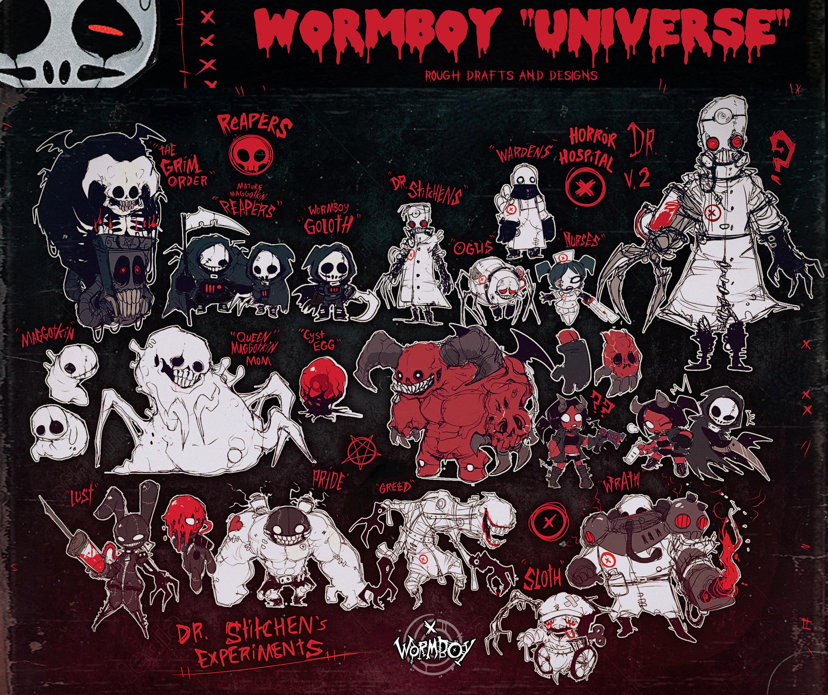 WORMBOY UNIVERSE SCREAM-MATICS (2020) by WORMBOYx on DeviantArt