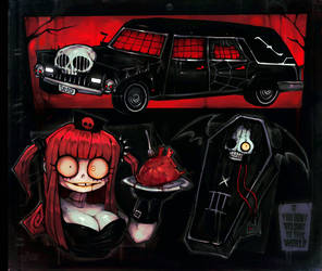 THE BLACK HEARSE