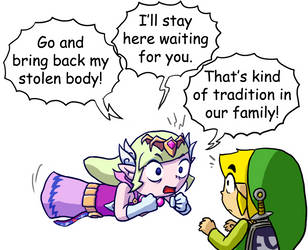 Zelda's Obligation by Comic-Ray