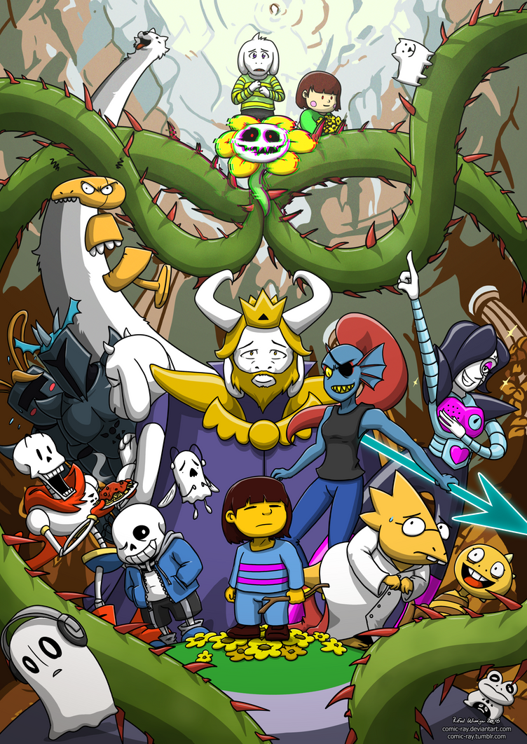 Undertale by Comic-Ray