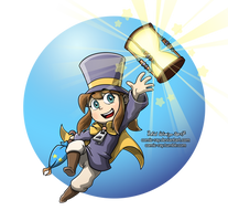Hat Kid by Comic-Ray