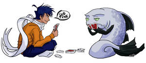 'Go Fish' by Haikera-Baiketsu