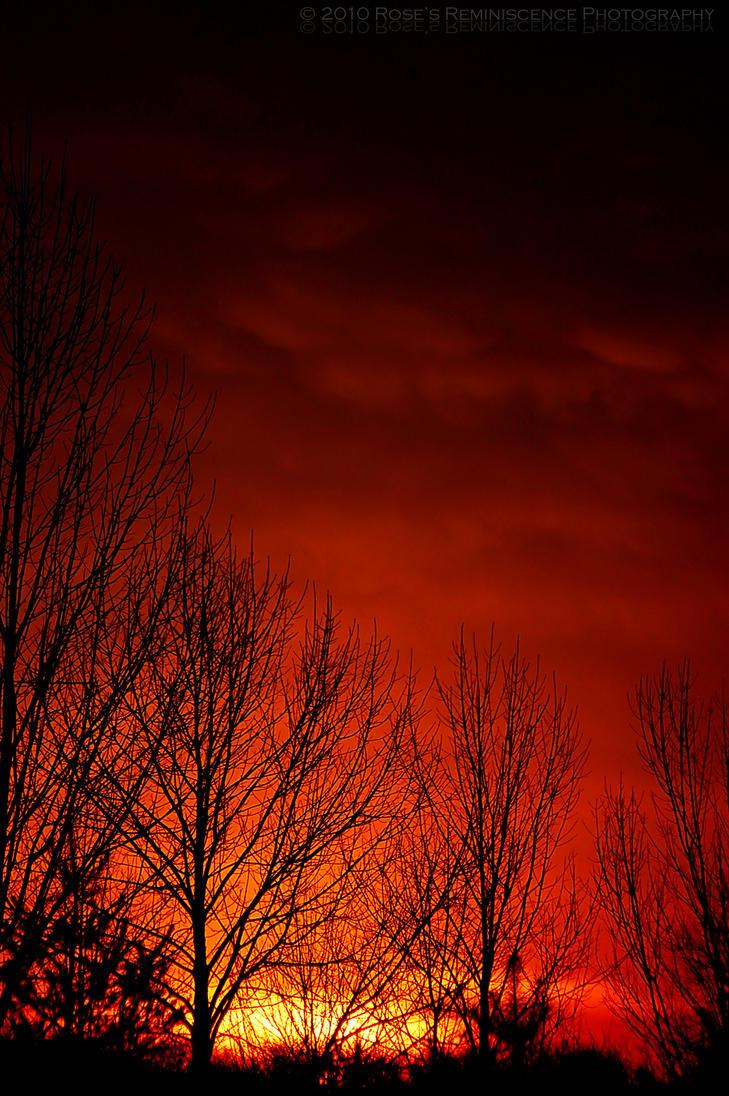 Fire Sky by baileysmomentsintime