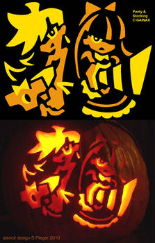 Panty and Stocking Halloween