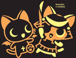 Kitty Vampires R cute by EazilyAmewzed