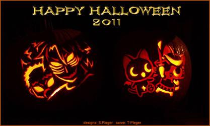 Happy Halloween 2011 by EazilyAmewzed