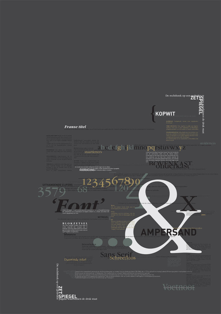 Typography Rules. by HEARTPLEDGE