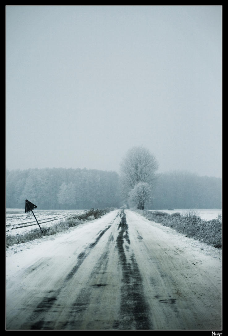 Winter Road by Nvaier
